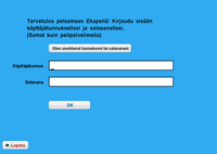 Webstart näkymä