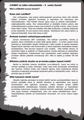 LukiMat 6v Lehtileike